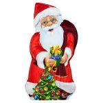 FIGARO Mikołaj z choinką Figurka z mlecznej czekolady
