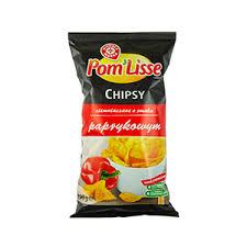 WIODĄCA MARKA Chipsy ziemniaczane o smaku paprykowym