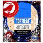 Auchan - Tortilla wieloziarnista pszenno - żytnia