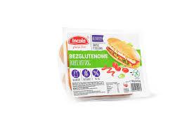 Incola Bułki hot dog bezglutenowe