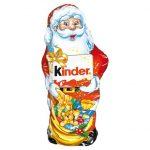 Kinder - Swięty Mikołaj figurka z mlecznej czekolady