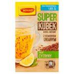 WINIARY Super Kubek Kisiel instant smak cytryny z siemieniem lnianym