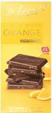DAS EXQUISITE czekolada ciemna z granulkami pomarańczowymi