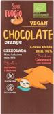 SUPER FUDGIO ekologiczna czekolada pomarańczowa na cukrze trzcinowym