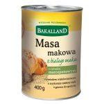 Bakalland Masa makowa biała o smaku marcepanowym