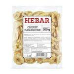 HEBAR Chipsy bananowe