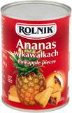ROLNIK Ananas w kawałkach