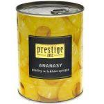 PRESTIGE Ananasy plastry w lekkim syropie