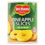 DEL MONTE Plastry ananasa w syropie