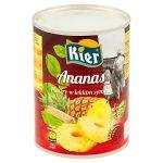 Kier Ananas plastry w lekkim syropie