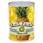 HAPPY FRUCHT Ananas kawałki