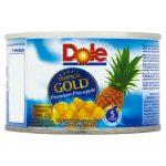 DOLE Tropical Gold Kawałki ananasa w soku