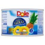 DOLE Tropical Gold Plastry ananasa w soku