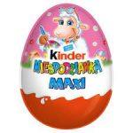 Kinder Niespodzianka Maxi Słodkie jajko z niespodzianką pokryte czekoladą mleczną