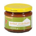 Auchan - Sos salsa Medium sos pomidorowy z papryką i cebulą