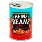 HEINZ Beanz Fasolka w sosie pomidorowym z chilli