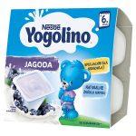 Nestlé Yogolino Deserek mleczno-owocowy jagoda dla niemowląt po 6. miesiącu