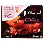 Auchan - Prosciutto di San Daniele szynka wieprzowa surowa dojrzewająca