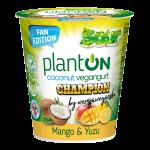 Jogurt kokosowy mango i yuzu Champion 160g Planton