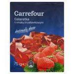 Carrefour Galaretka o smaku truskawkowym