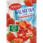 DELECTA Galaretka o smaku truskawkowym