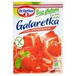 Dr. Oetker Galaretka o smaku truskawkowym bez glutenu