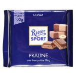 Ritter Sport Nugat czekolada mleczna z nadzieniem