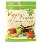 EL PUENTE Veggie Fruits Żelki o smaku owocowym bez żelatyny 100 g