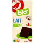 Auchan - BIO Lait czekolada mleczna