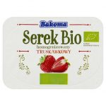 Bakoma - Serek homogenizowany o smaku truskawkowym