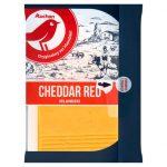 Auchan Ser cheddar czerwony, twardy, podpuszczkowy