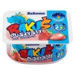 Bakoma Bakuś Puszysty serek truskawkowy 90 g