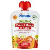 HUMANA Organic Mus brzoskwinia & mango w jabłku po 8. m-cu 90 g