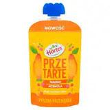 HORTEX Przetarte Premium mus owocowy jabłko banan mango pomarańcza acerola 100 g
