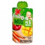 KUBUŚ Baby Mus po 6 miesiącu jabłko marchew mango