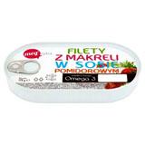 Mega Ryba Filety z makreli w sosie pomidorowym