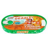 GRAAL Graalki Smaczne rybki Fileciki z makreli w sosie pomidorowym a'la ketchu