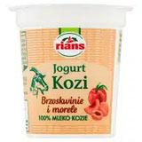 RIANS Jogurt kozi brzoskwinie i morele
