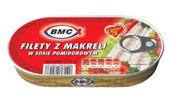 BMC Filety z makreli w sosie pomidorowym