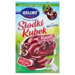 Gellwe Słodki Kubek Kisiel z kawałkami owoców smak wiśniowy