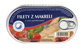 BIG FISH Filety z makreli w sosie pomidorowym