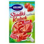 Gellwe Słodki Kubek Kisiel z kawałkami owoców smak truskawkowy