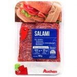 Auchan - Salami naturalne plastry