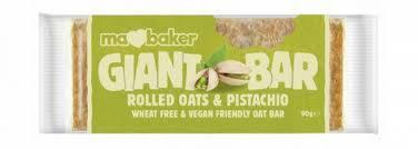 MABAKER baton rolled oats & pistachio