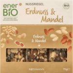 ENERBIO batony z orzeszkami ziemnymi i migdałami 3 porcje