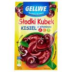 GELLWE Słodki Kubek Kisiel z kawałkami owoców wiśnia