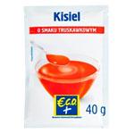 ECO+ Kisiel o smaku truskawkowym
