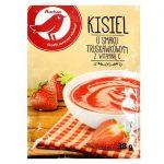 Auchan - Kisiel o smaku truskawkowym z witaminą C