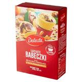 DELECTA Łaciate babeczki smak belgijska czekolada