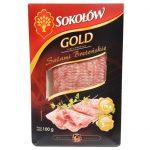 Sokołów Gold Salami Bretońskie plastry